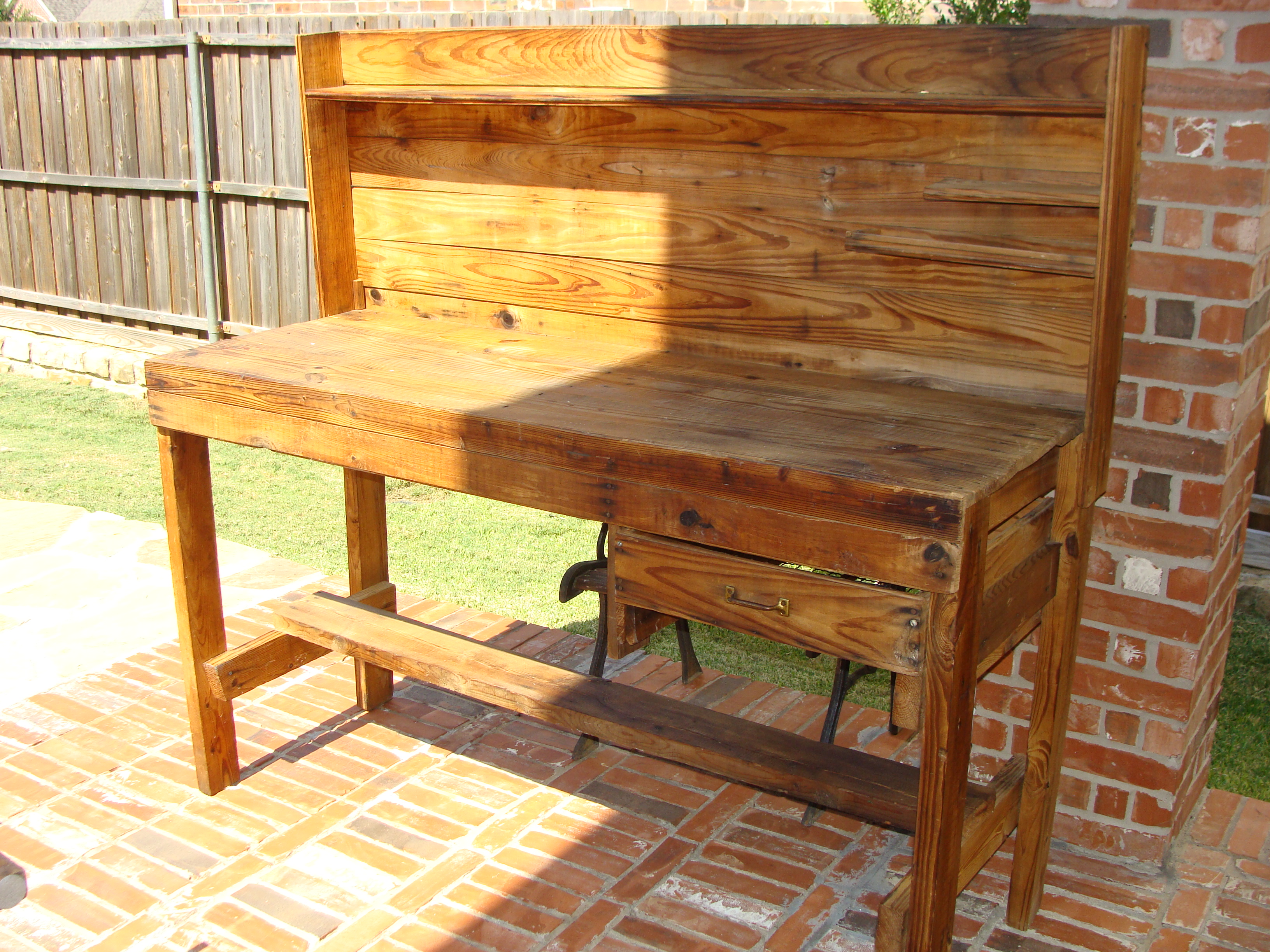 potting bench plans family handyman